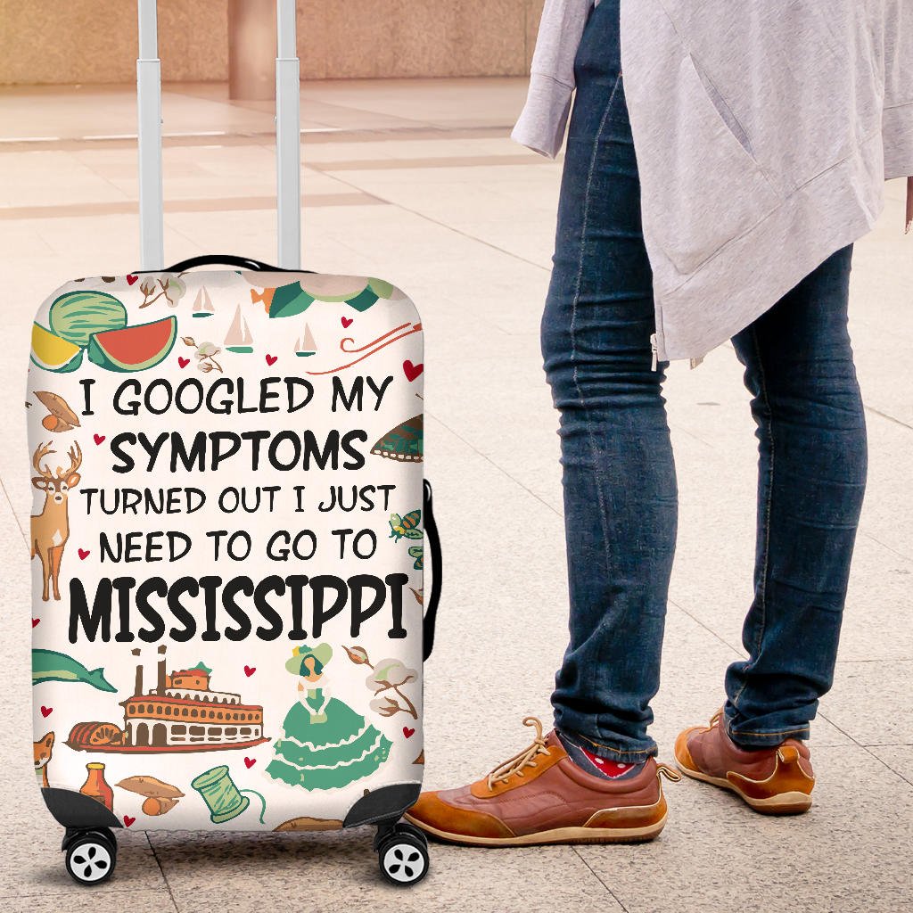 I Just Need To Go To Mississippi Luggage Covers
