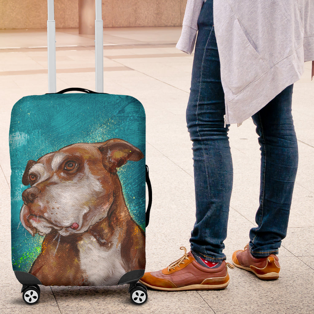 Pitbull 3d Luggage Covers