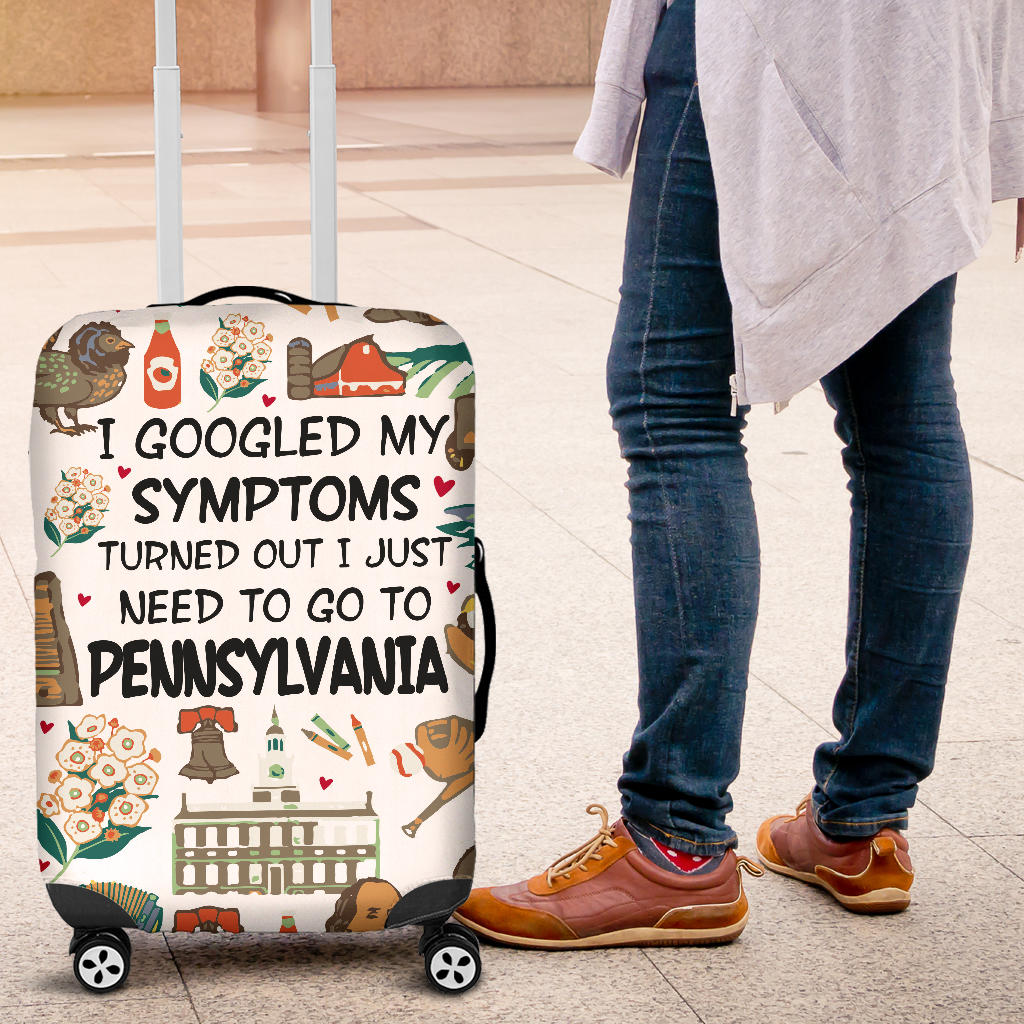 I Just Need To Go To Pennsylvania Luggage Covers