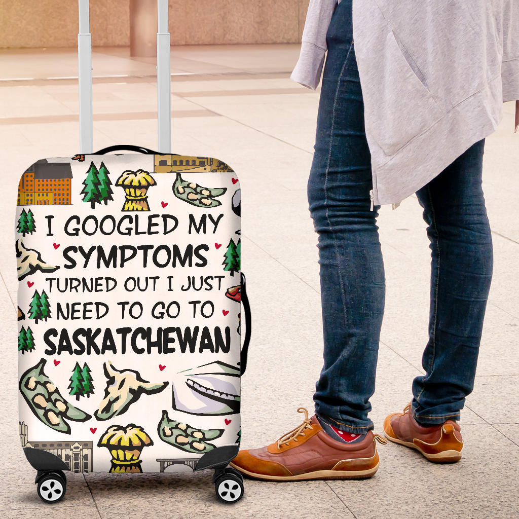 I Just Need To Go To Saskatchewan Luggage Covers