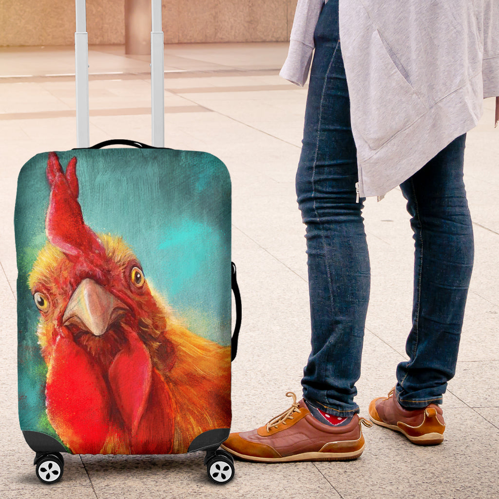 Several chick luggage covers -  Teezalo LLC
