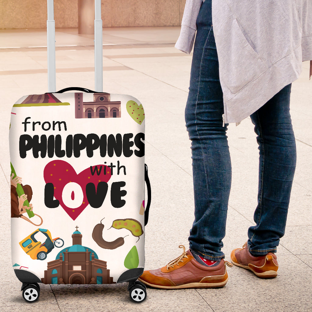 From Philippines With Love Luggage Covers