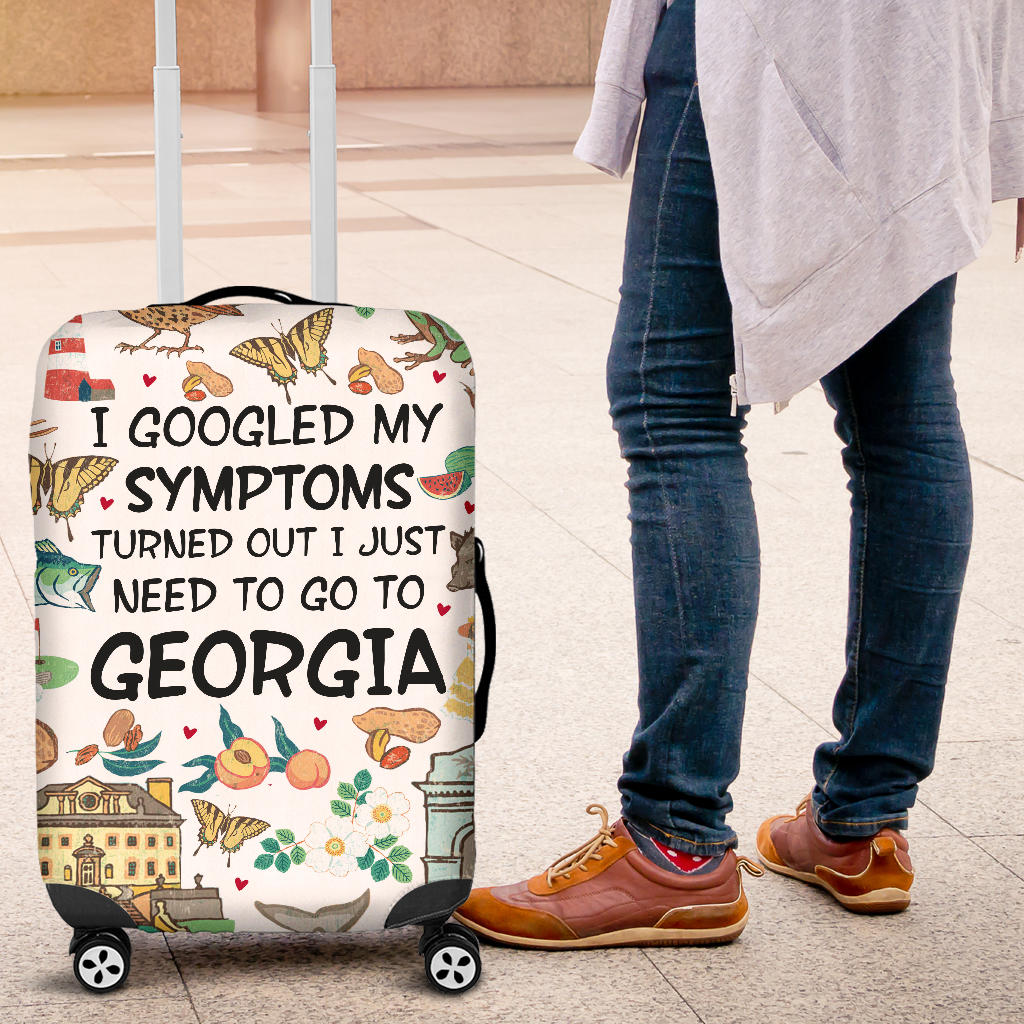 I GOOGLED MY SYMPTOMS TURNED OUT I JUST NEED TO GO TO GEORGIA