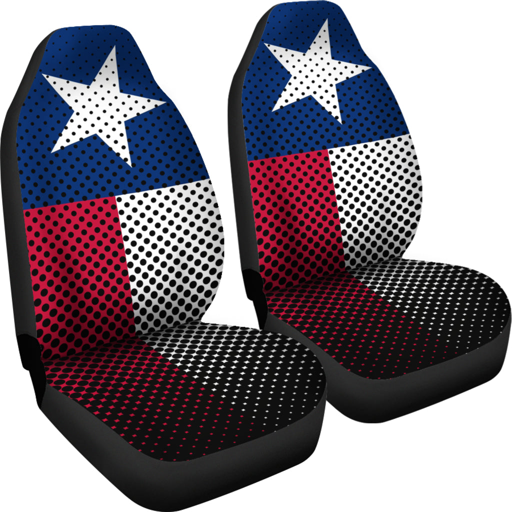 Texas Flag Car Seat Covers -  Teezalo LLC