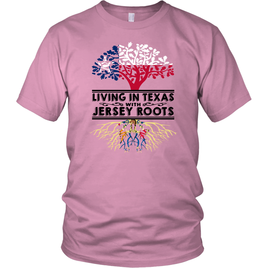 Living In Texas With Jersey Roots T-Shirt