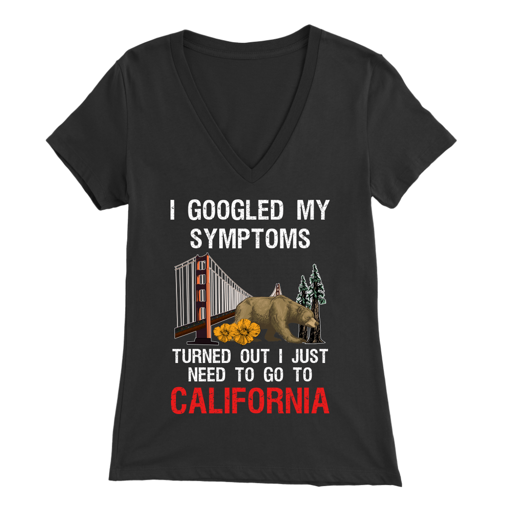 I GOOGLED MY SYMPTOMS TURNED OUT I JUST NEED TO GO TO CALIFORNIA