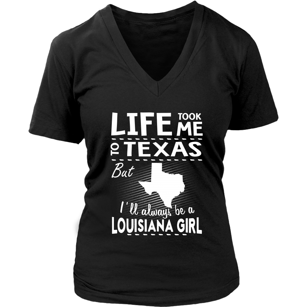 LIFE TOOK ME TO TEXAS BUT I'LL ALWAYS BE A LOUISIANA GIRL