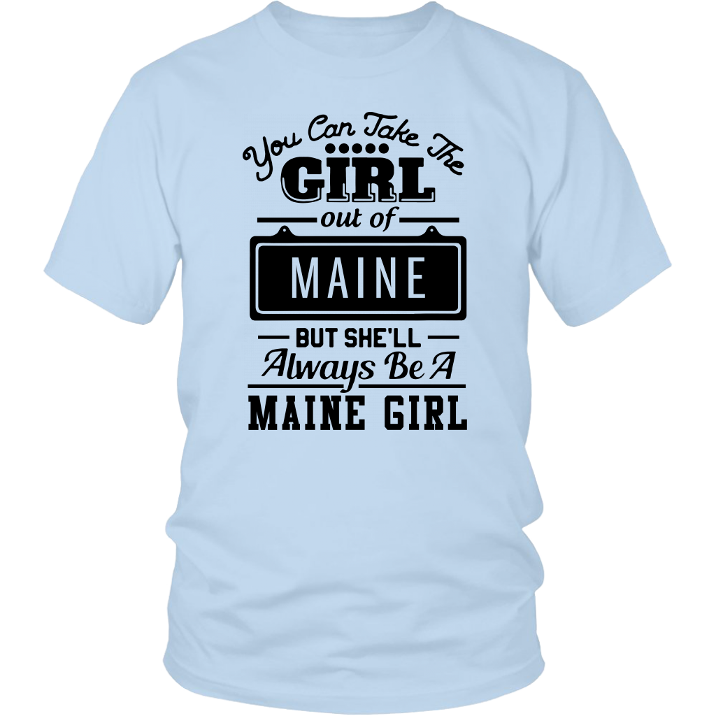ALWAYS BE A MAINE GIRL
