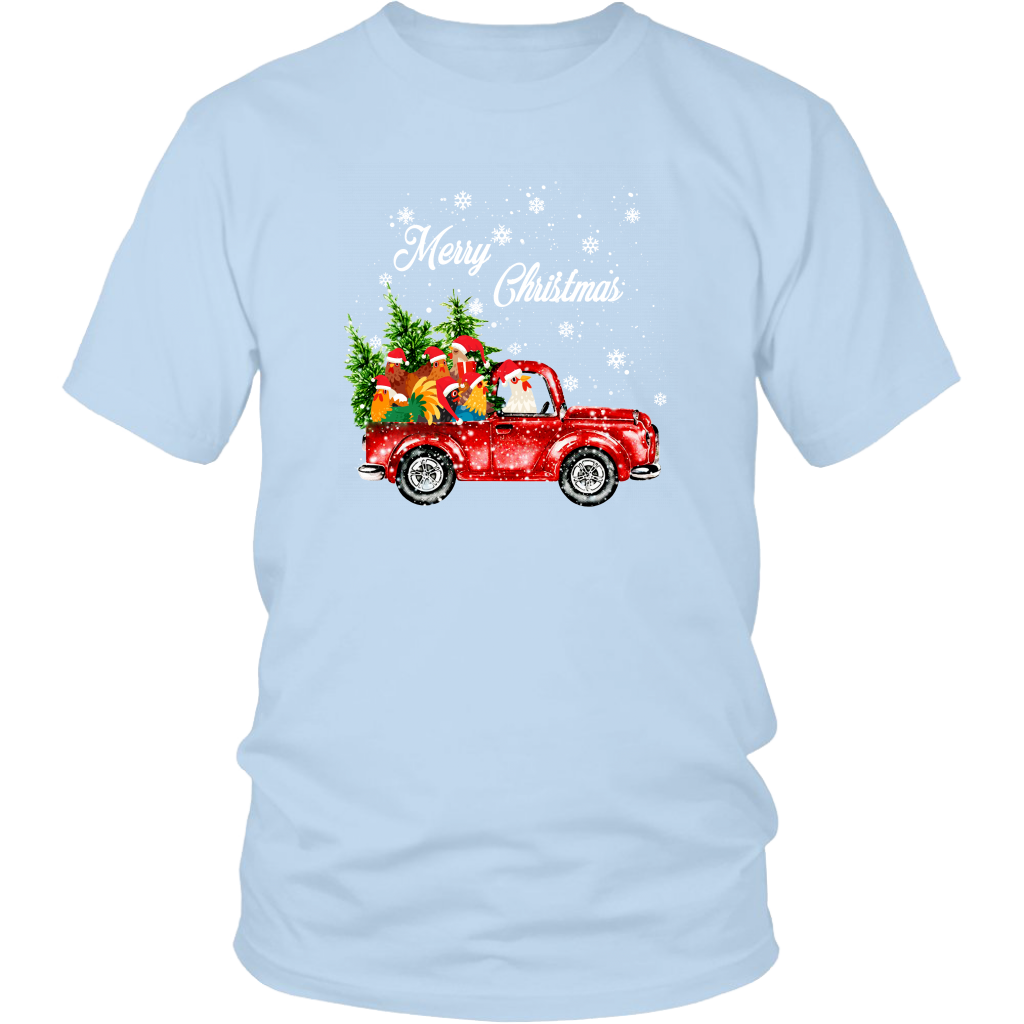 Merry Christmas Chicken T Shirt