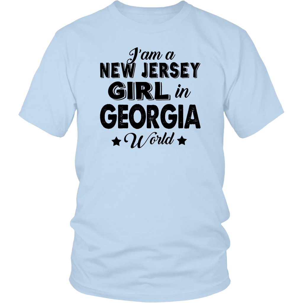I'm A New Jersey Girl In Georgia World T-Shirt