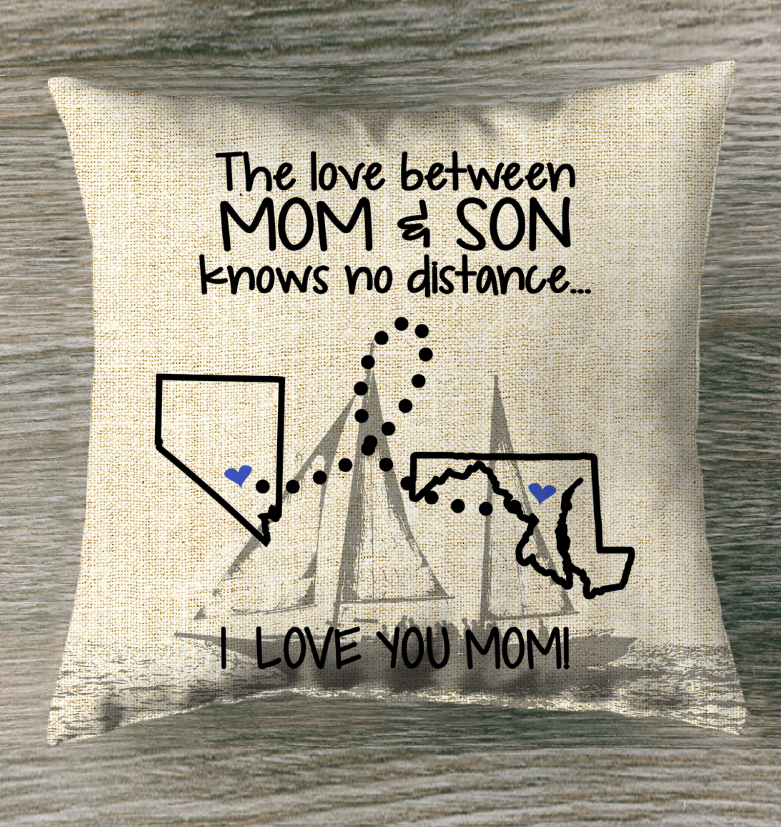 FLORIDA NEVADA THE LOVE MOM AND SON KNOWS NO DISTANCE