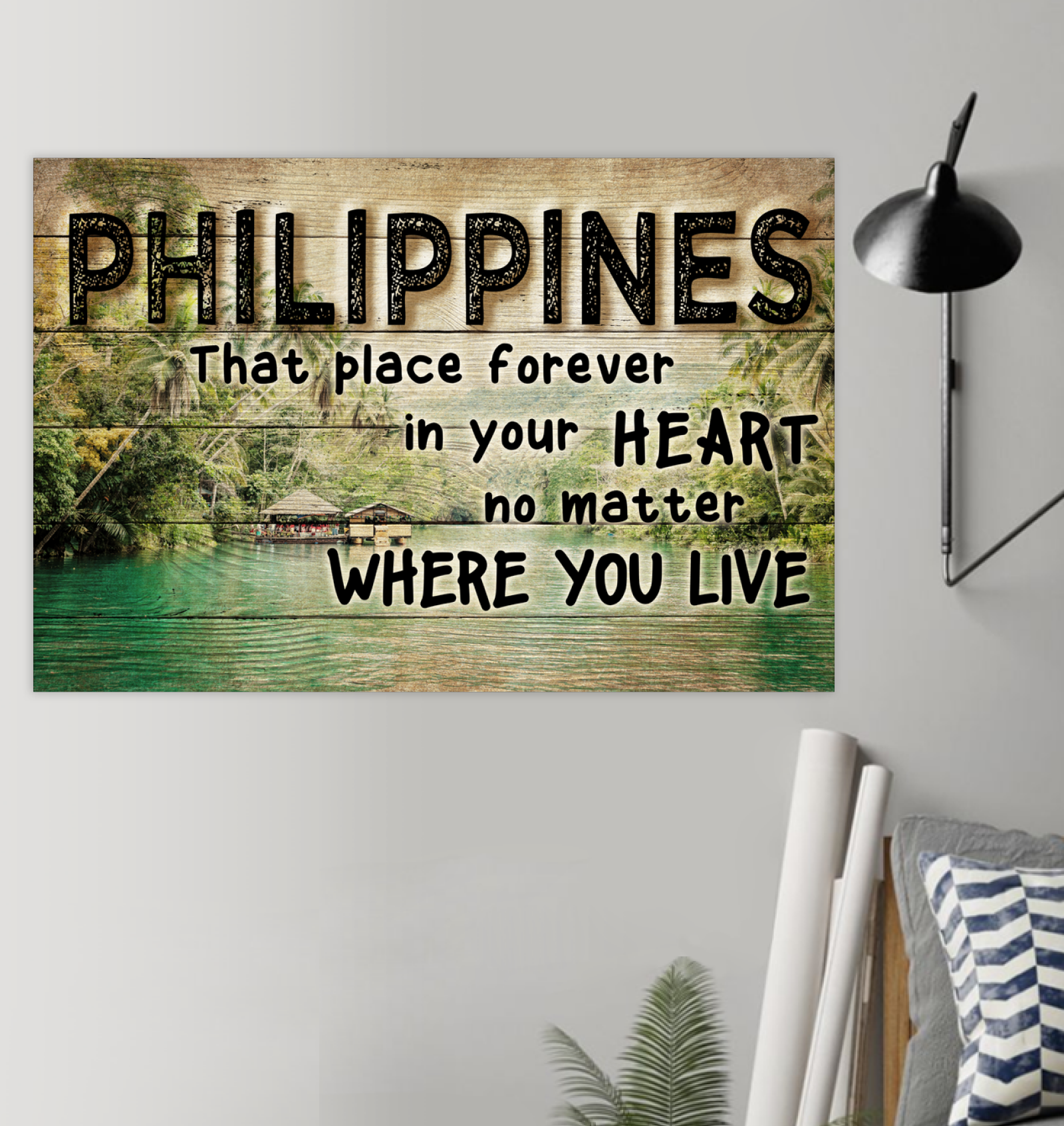 Philippines That Place Forever In Your Heart Poster