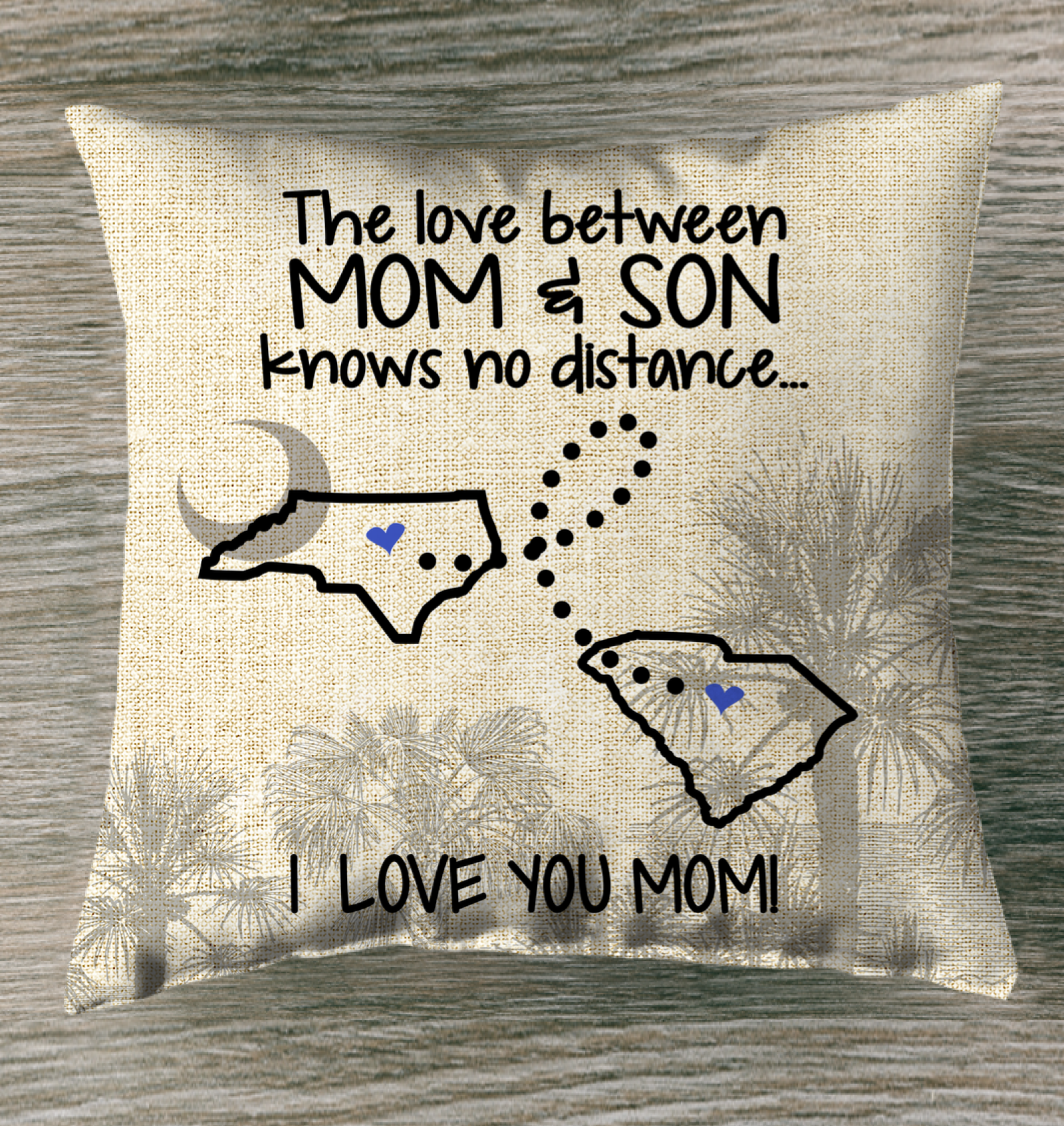 SOUTH CAROLINA NORTH CAROLINA THE LOVE BETWEEN MOM AND SON