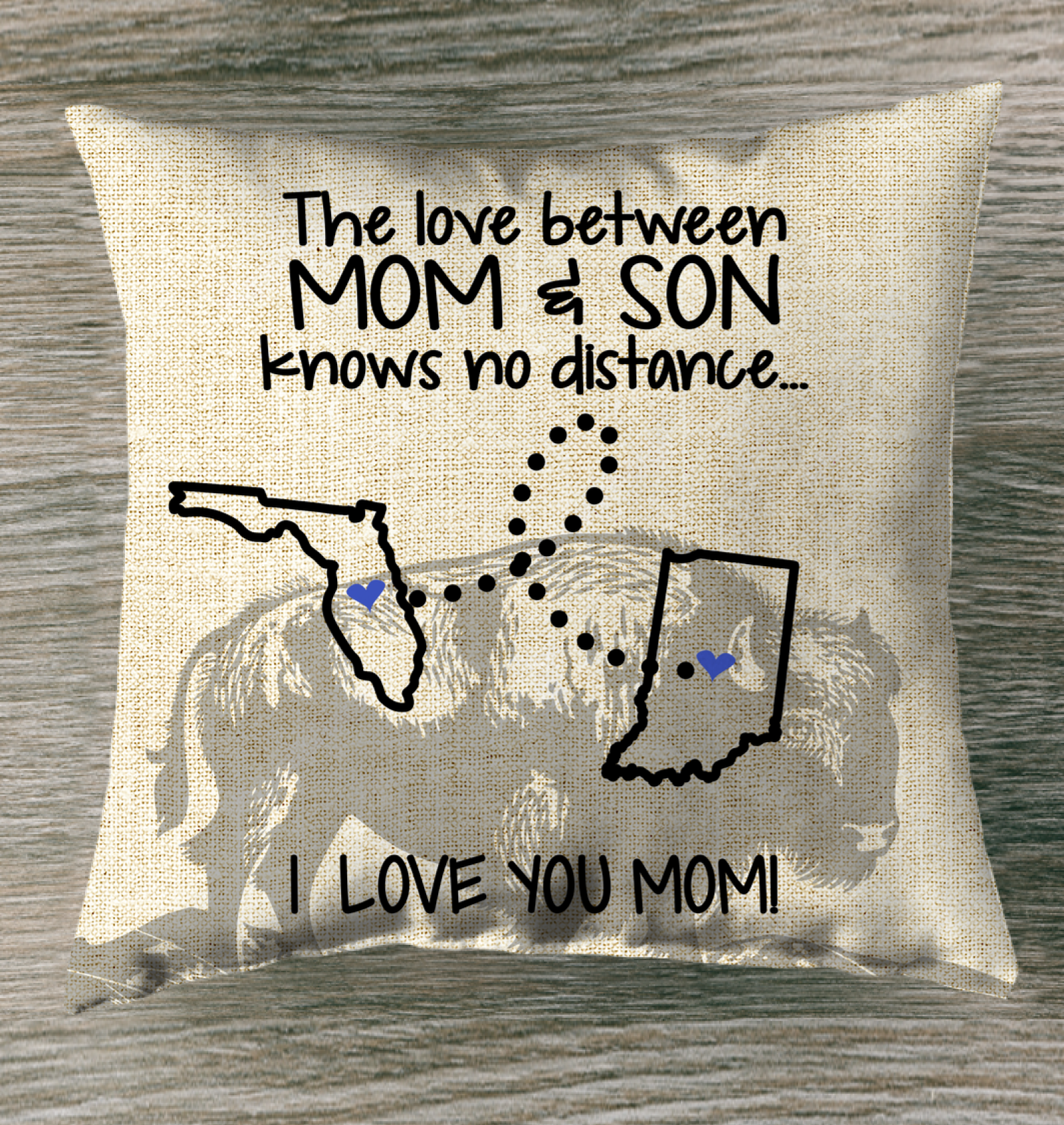INDIANA FLORIDA THE LOVE  BETWEEN MOM AND SON