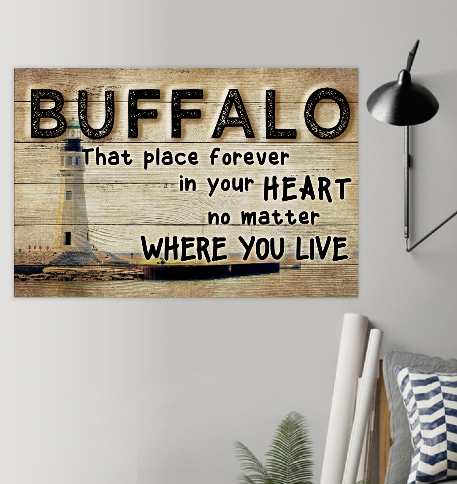 Buffalo That Place Forever In Your Heart Poster