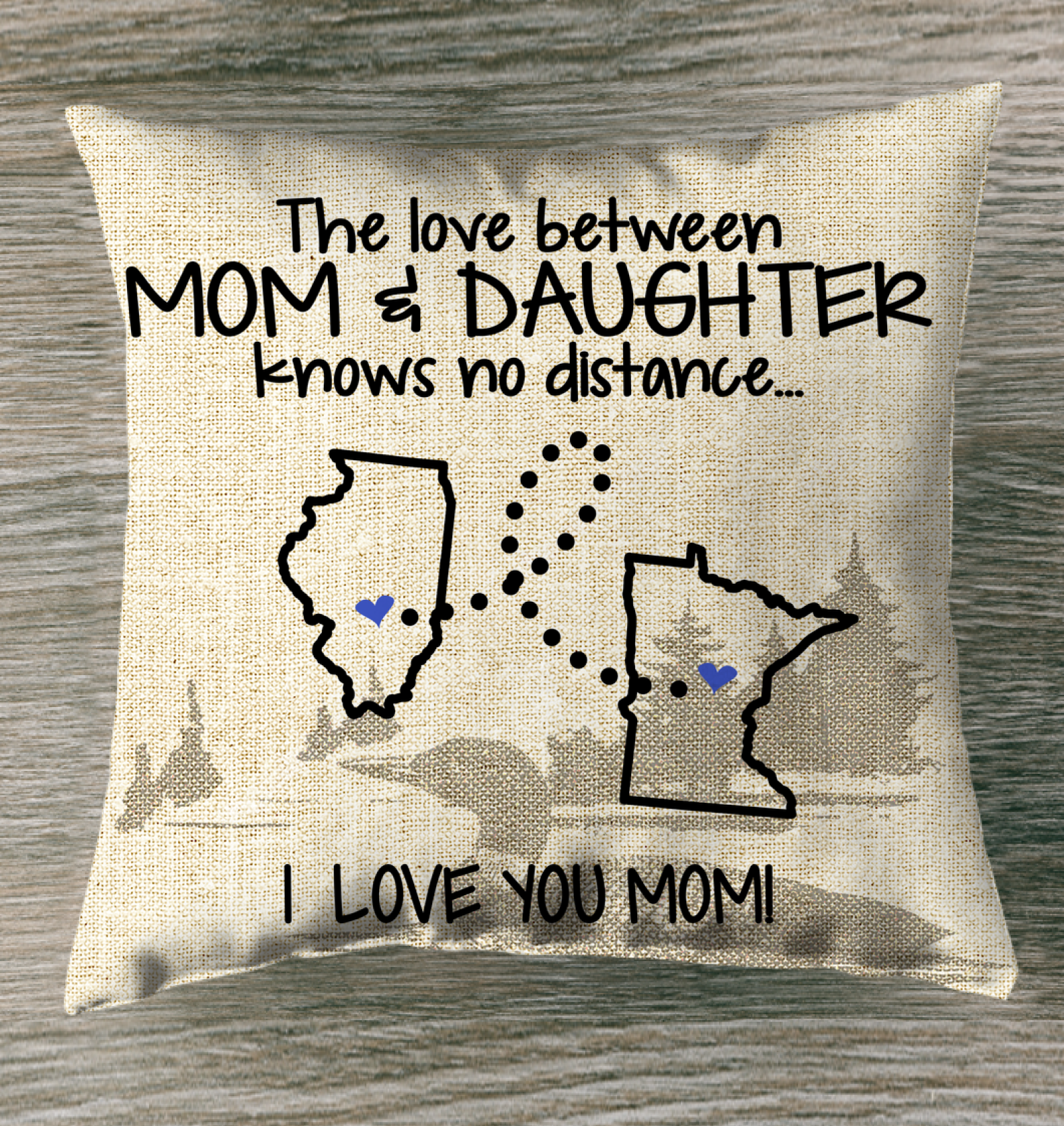 MINNESOTA ILLINOIS THE LOVE BETWEEN MOM AND DAUGHTER