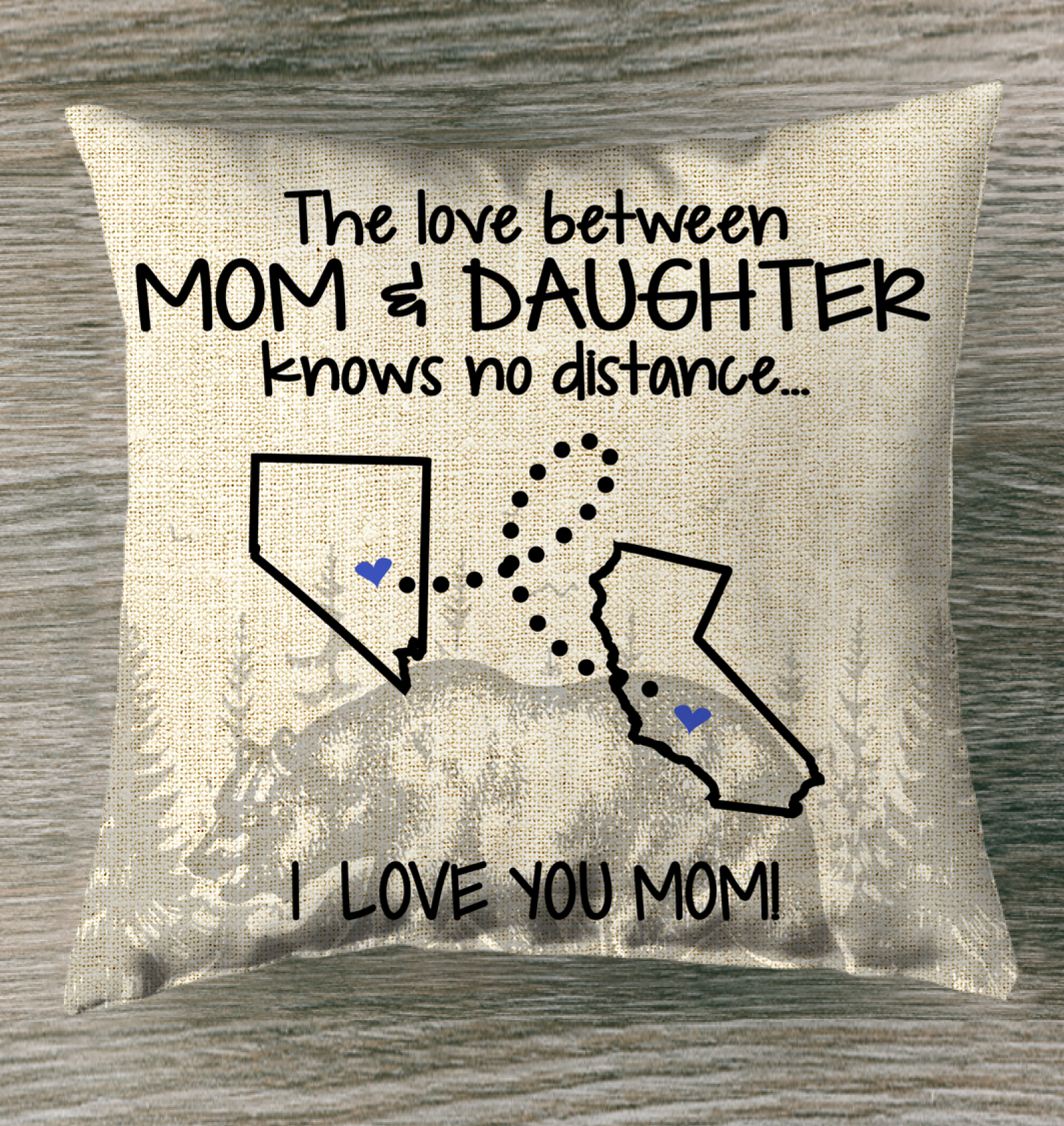 CALIFORNIA NEVADA THE LOVE BETWEEN MOM AND DAUGHTER