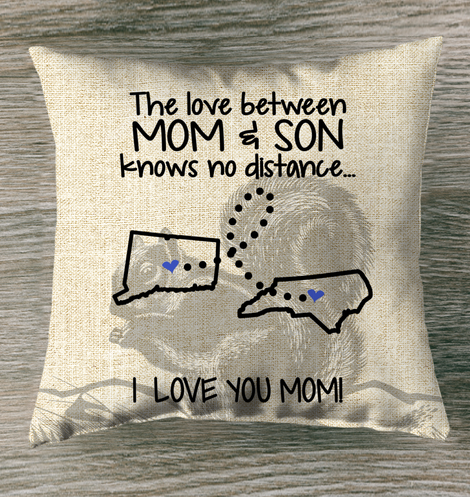 NORTH CAROLINA CONNECTICUT THE LOVE MOM AND SON KNOWS NO DISTANCE