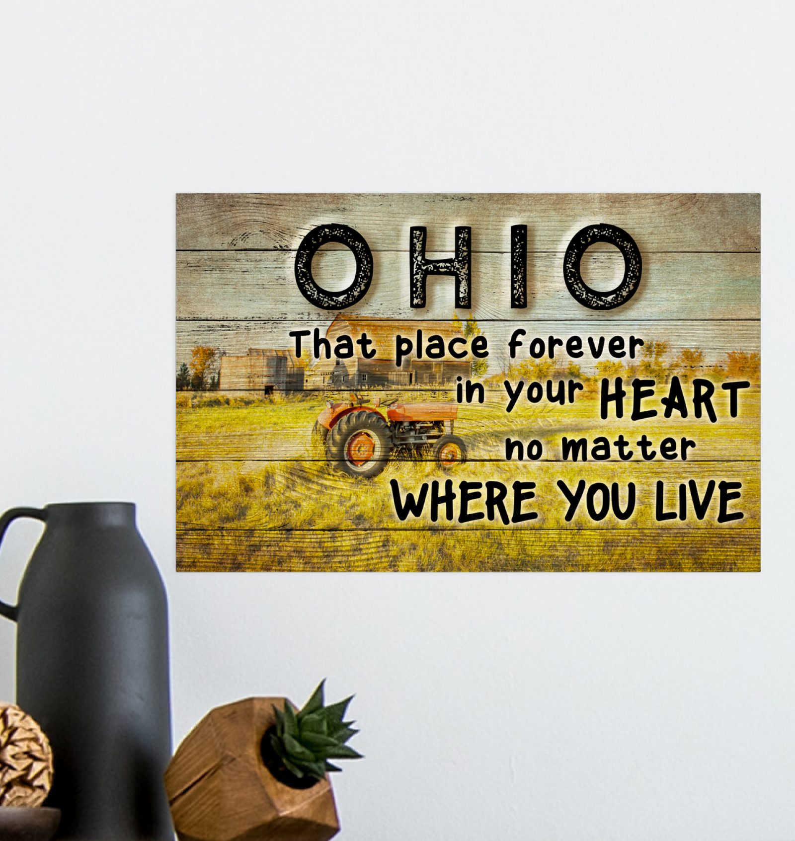 OHIO THAT PLACE FOREVER IN YOUR HEART NO MATTER WHERE YOUR GO