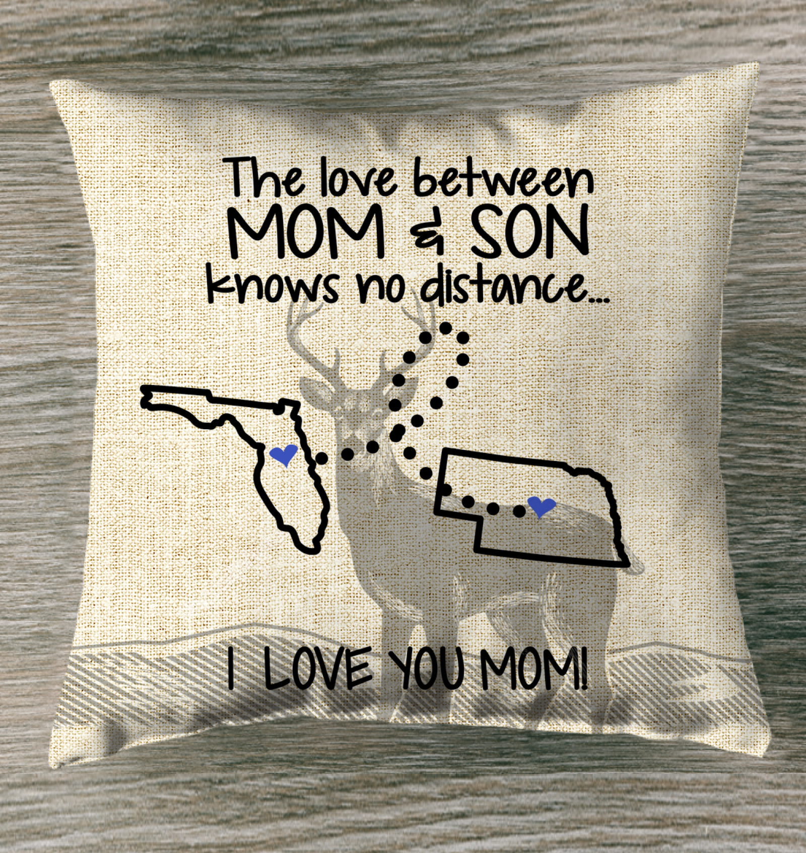 NEBRASKA FLORIDA THE LOVE MOM AND SON KNOWS NO DISTANCE