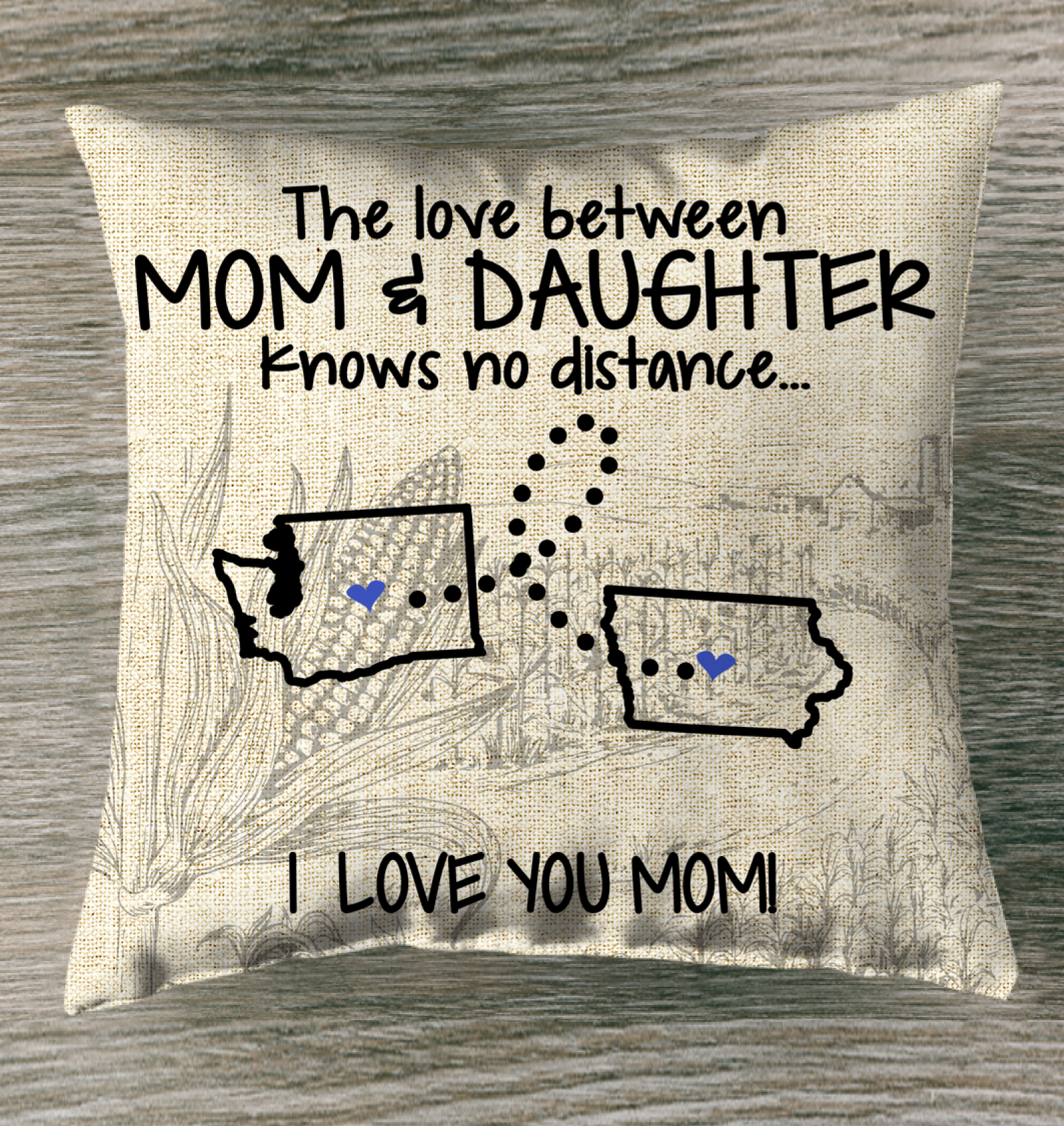 IOWA WASHINGTON THE LOVE BETWEEN MOM AND DAUGHTER