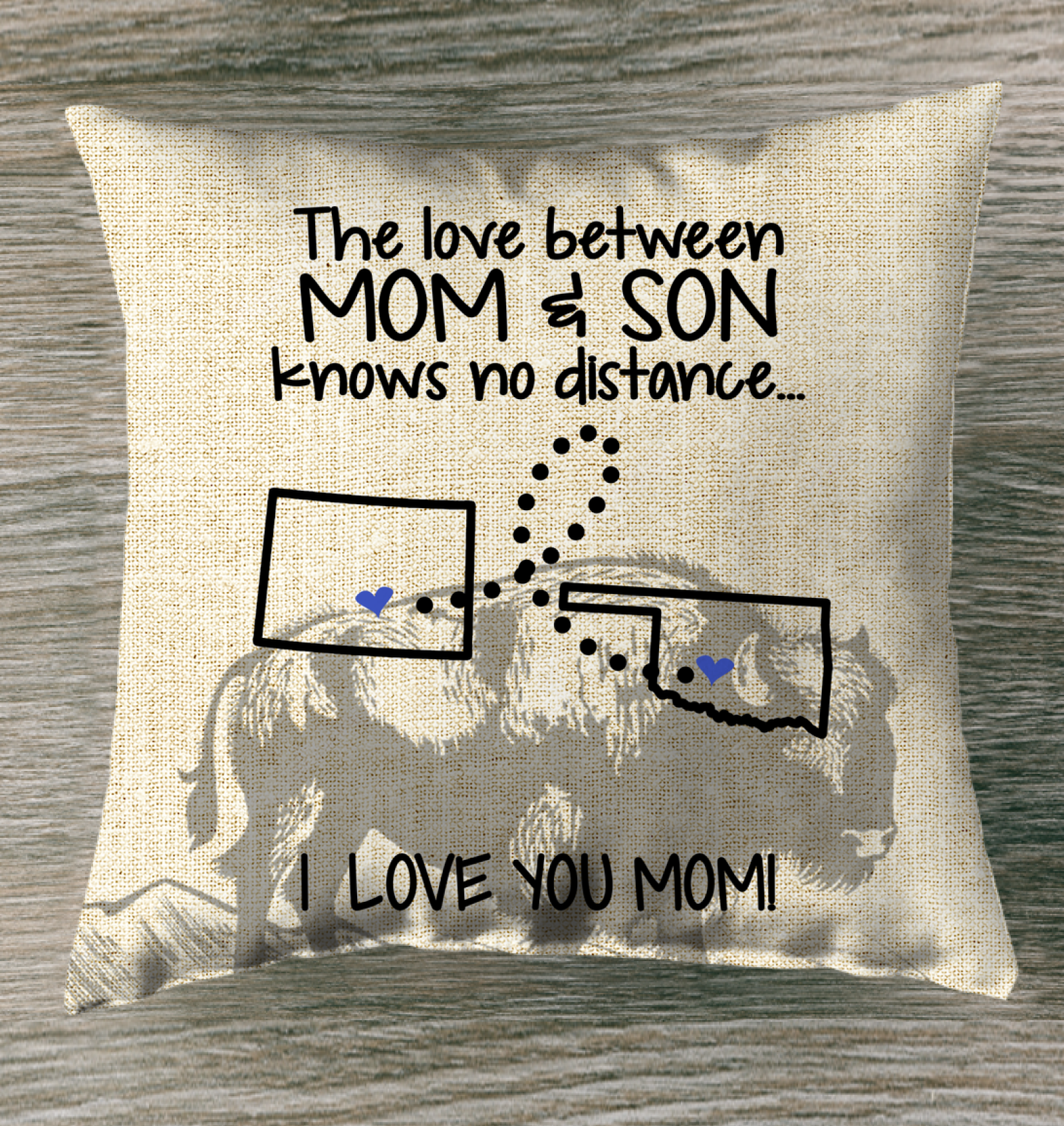 OKLAHOMA COLORADO THE LOVE MOM AND SON KNOWS NO DISTANCE