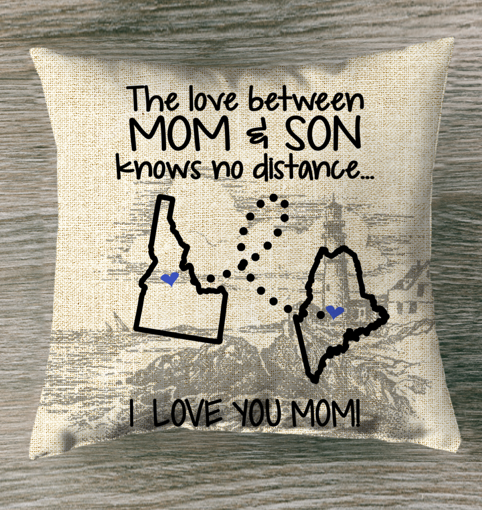 MAINE IDAHO THE LOVE BETWEEN MOM AND SON
