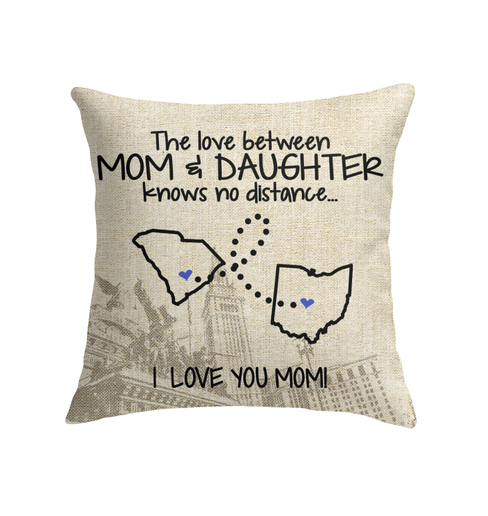 OHIO SOUTH CAROLINA THE LOVE MOM AND DAUGHTER KNOWS NO DISTANCE