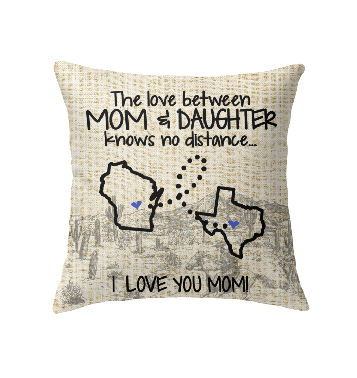 TEXAS WISCONSIN THE LOVE BETWEEN MOM AND DAUGHTER
