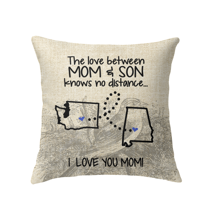 ALABAMA WASHINGTON THE LOVE MOM AND SON KNOWS NO DISTANCE