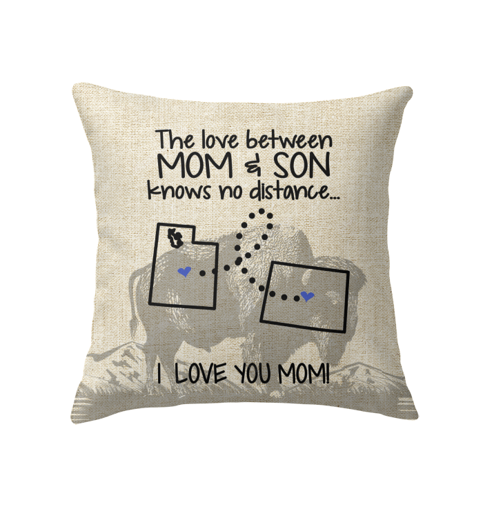 WYOMING UTAH THE LOVE MOM AND SON KNOWS NO DISTANCE