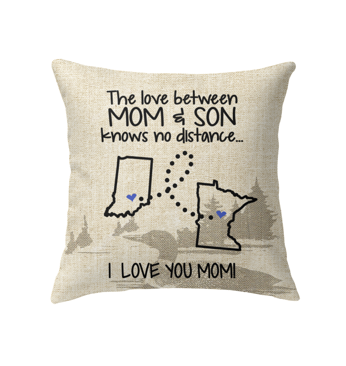 MINNESOTA INDIANA THE LOVE BETWEEN MOM AND SON