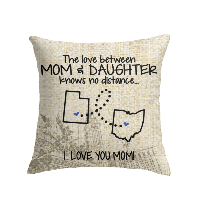 OHIO UTAH THE LOVE MOM AND DAUGHTER KNOWS NO DISTANCE
