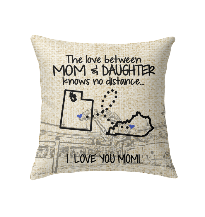 KENTUCKY UTAH THE LOVE MOM AND DAUGHTER KNOWS NO DISTANCE