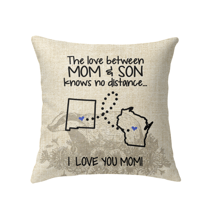 WISCONSIN NEW MEXICO THE LOVE MOM AND SON KNOWS NO DISTANCE