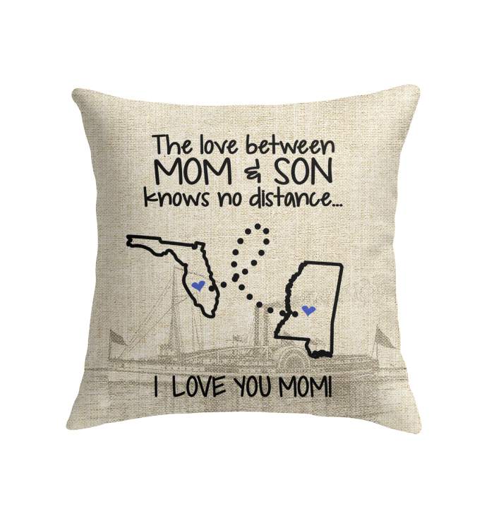 MISSISSIPPI FLORIDA THE LOVE MOM AND SON KNOWS NO DISTANCE