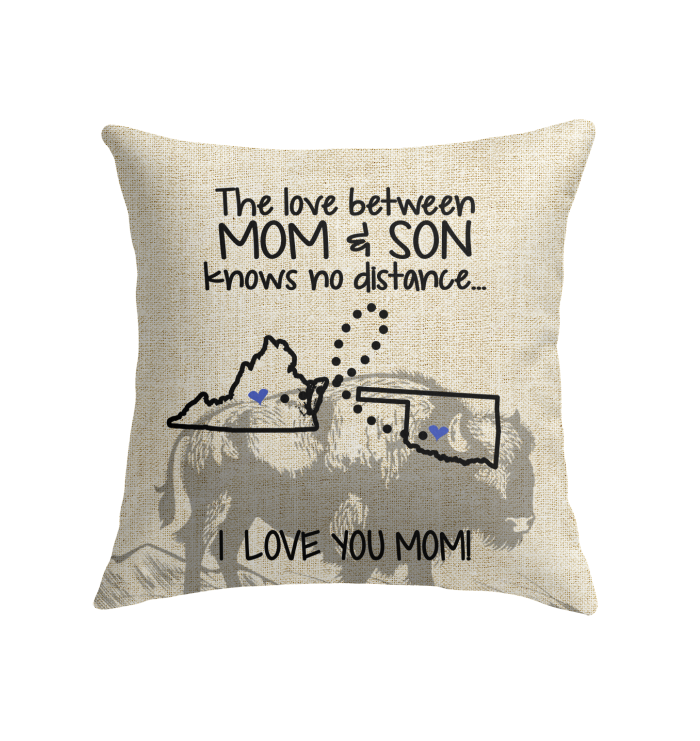 OKLAHOMA VIRGINIA THE LOVE MOM AND SON KNOWS NO DISTANCE