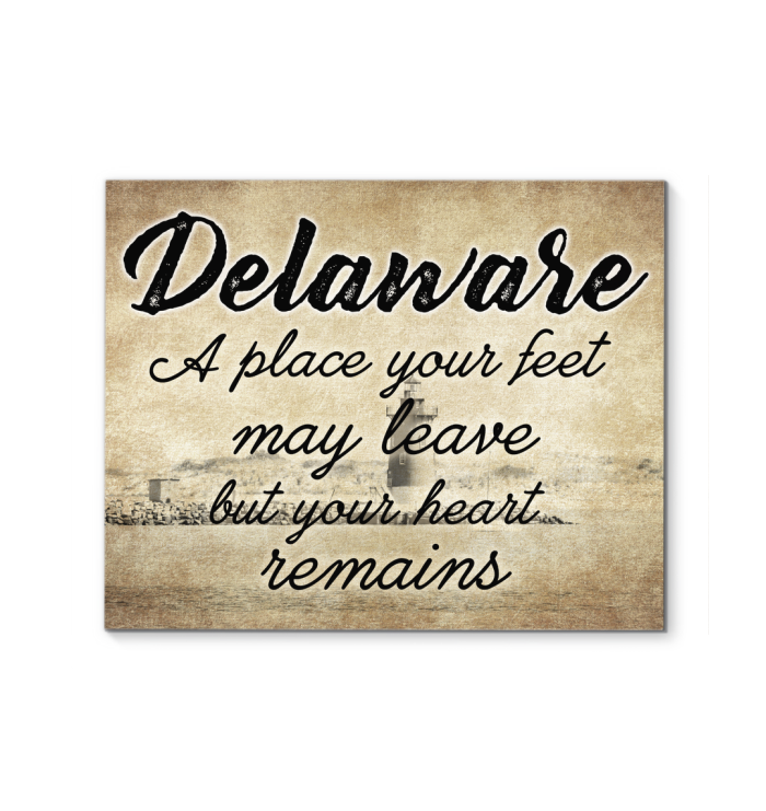Delaware A Place Your Heart Remains Poster