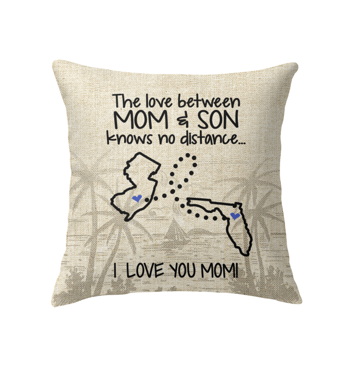 FLORIDA NEW JERSEY THE LOVE MOM AND SON KNOWS NO DISTANCE