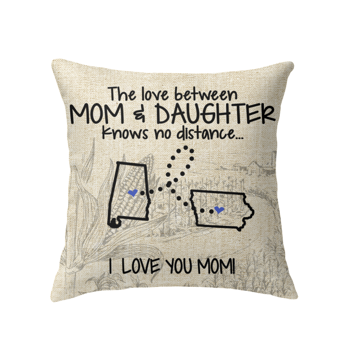 IOWA ALABAMA THE LOVE BETWEEN MOM AND DAUGHTER