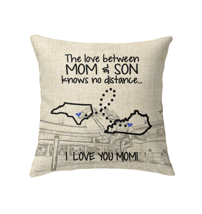 KENTUCKY NORTH CAROLINA THE LOVE MOM AND SON KNOWS NO DISTANCE