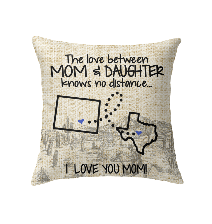 TEXAS COLORADO THE LOVE BETWEEN MOM AND DAUGHTER