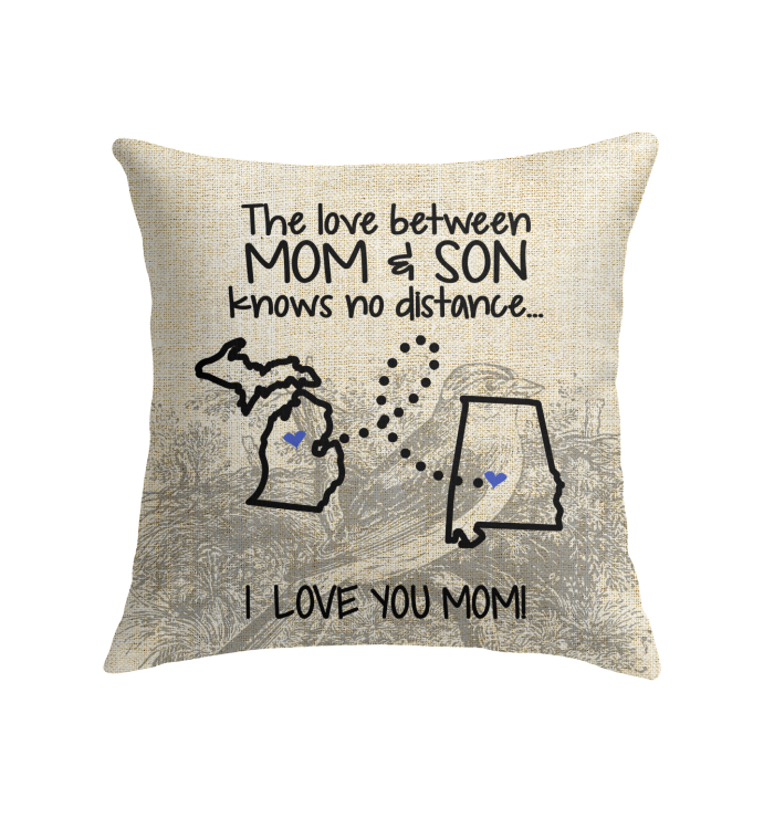 ALABAMA MICHIGAN THE LOVE MOM AND SON KNOWS NO DISTANCE