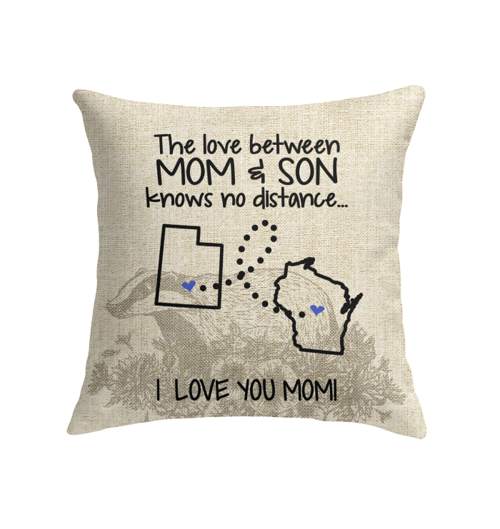 WISCONSIN UTAH THE LOVE MOM AND SON KNOWS NO DISTANCE