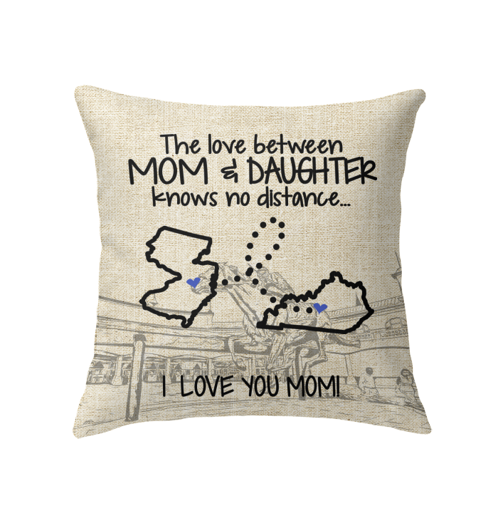 KENTUCKY NEW JERSEY THE LOVE MOM AND DAUGHTER KNOWS NO DISTANCE