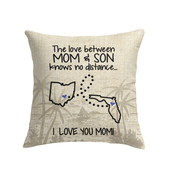 FLORIDA OHIO THE LOVE MOM AND SON KNOWS NO DISTANCE
