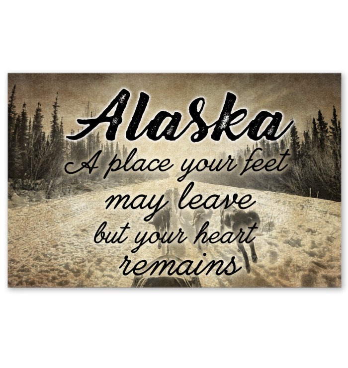 Alaska A Place Your Heart Remains Poster