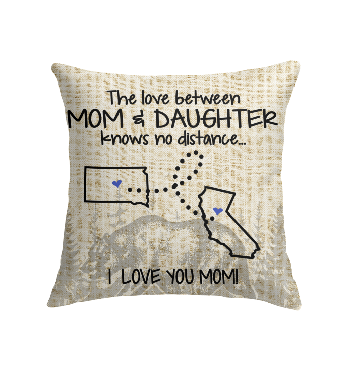 CALIFORNIA SOUTH DAKOTA THE LOVE BETWEEN MOM AND DAUGHTER