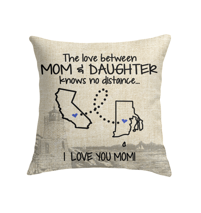 RHODE ISLAND CALIFORNIA THE LOVE MOM AND DAUGHTER KNOWS NO DISTANCE