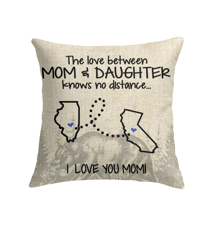 CALIFORNIA ILLINOIS THE LOVE BETWEEN MOM AND DAUGHTER